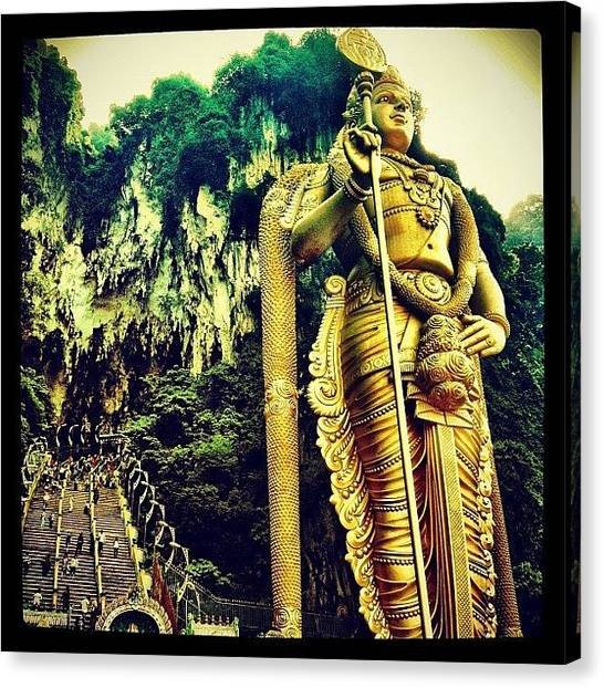 Judaism Canvas Print - #batucaves #deity #god #worship #holy by Brenda Wong