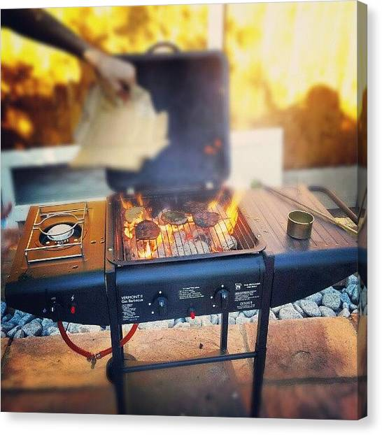 Grills Canvas Print - Bbq With The Lads. #afghan #awesome by Mohsen Khan   Alexander Pathan Yusufzai