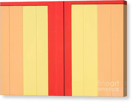 Beach House - Warm Colours I Canvas Print by Hideaki Sakurai