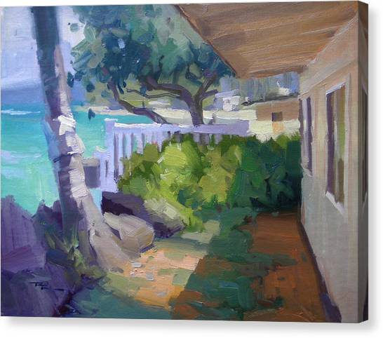Beach House Canvas Print by Richard Robinson