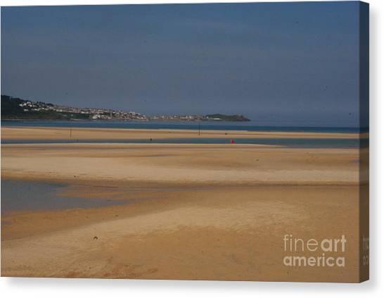 Beach Canvas Print by Keith Sutton