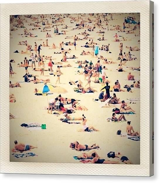 Australian Canvas Print - Beach Life by Sydney Australia
