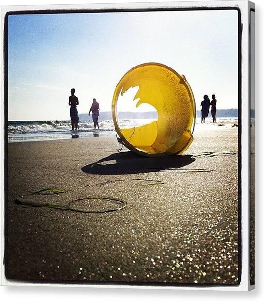Soda Canvas Print - Beach View by Soda Love
