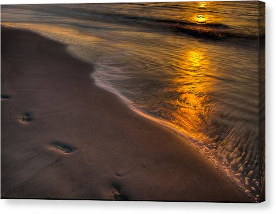 Beach Walk - Part 2 Canvas Print