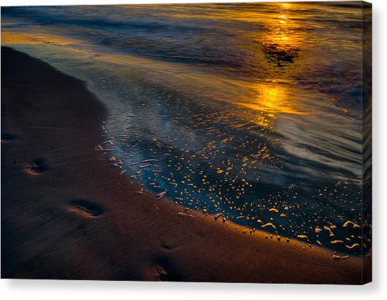 Beach Walk - Part 4 Canvas Print