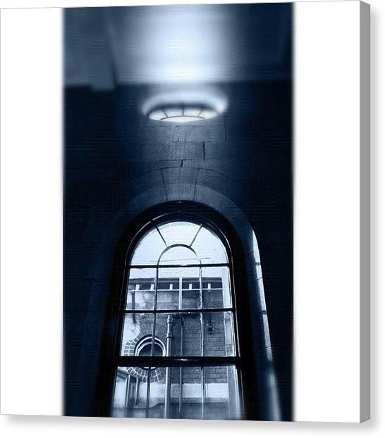 Saints Canvas Print - Beam #ch_archedwindow by Kendall Saint