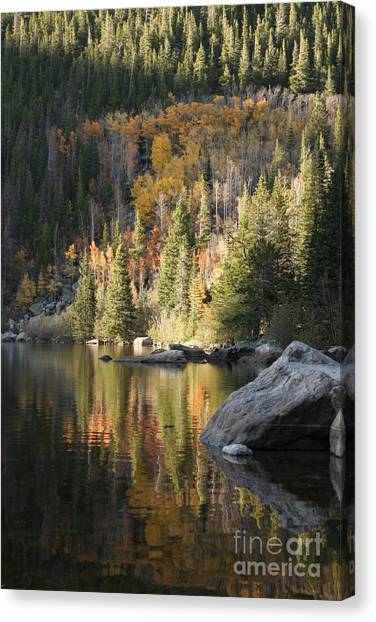Bear Lake Canvas Print