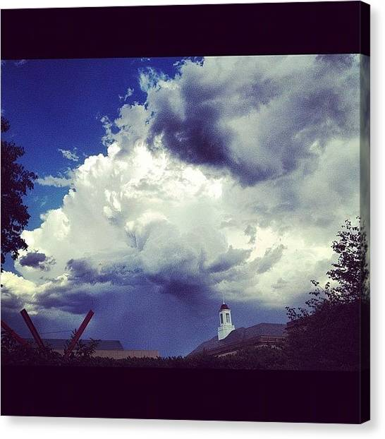 Libraries Canvas Print - #beautiful #awesome #cloud #storm On by Supat Rattanasuksun