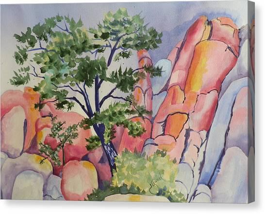 Beautiful Boulders Canvas Print
