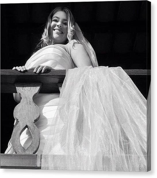 Groom Canvas Print - Beautiful Bride by Adriana Guimaraes