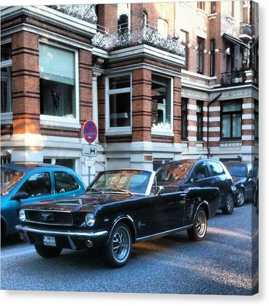 Ford Canvas Print - Beautiful Car! 💚❤ by Hamburg Fan