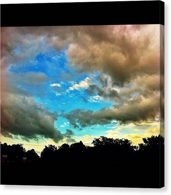 Hurricanes Canvas Print - #beautiful #clouds #cloudporn #colorful by Brittany B