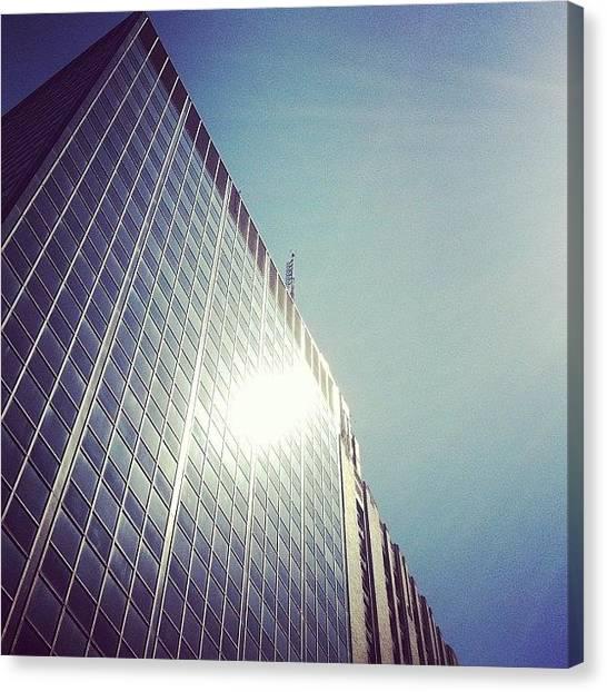 Angle Canvas Print - #beautiful #day. #sun #sunshine #view by Jenna Luehrsen
