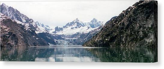 Beautiful Glacier Bay Canvas Print