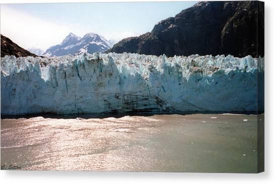 Beautiful Margerie Glacier Canvas Print