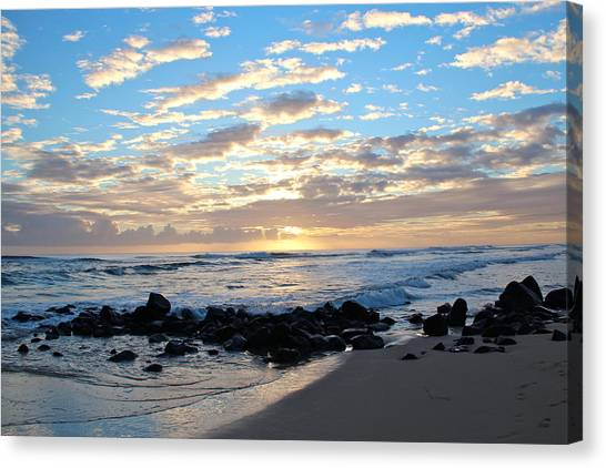 Beautiful Morning Canvas Print by Kimberly Davidson