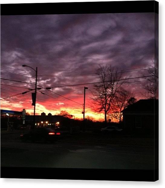Stoplights Canvas Print - Beautiful Night To Kick Some Jet by ✼ⓚ ⓐ ⓨ ⓛ ⓘ✼