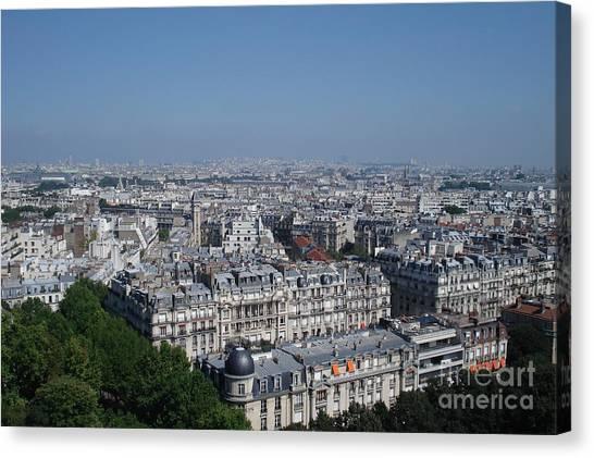 Beautiful Paris Canvas Print by David Peters