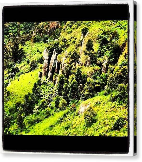 Geology Canvas Print - #beautiful Sites In Cameroon, #africa by Luis Alberto