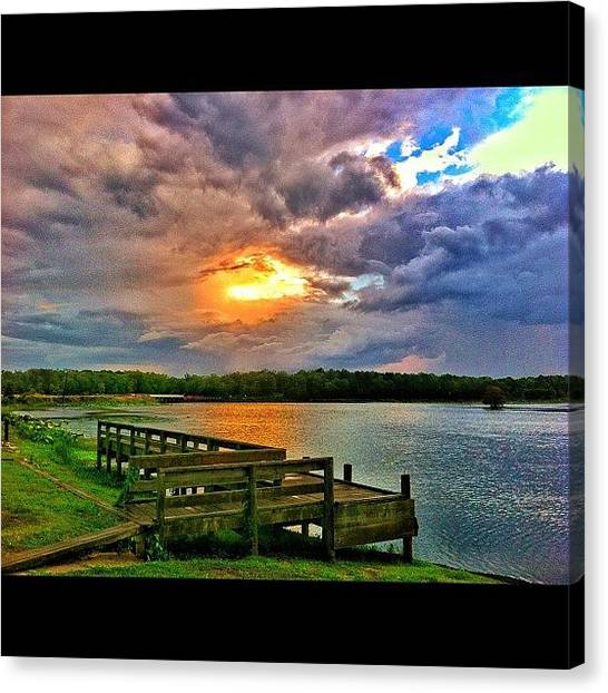 Hurricanes Canvas Print - #beautiful #storm #sky #sun #skyporn by Brittany B