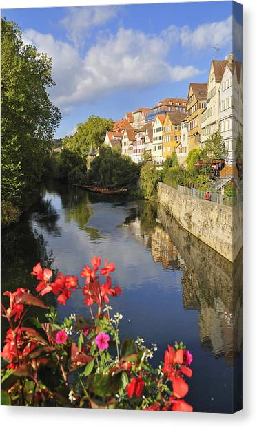 Beautiful Tuebingen In Germany Canvas Print