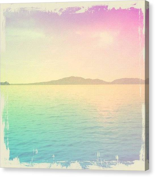 Pastel Canvas Print - Beauty In Pastel by Liana Gunawan