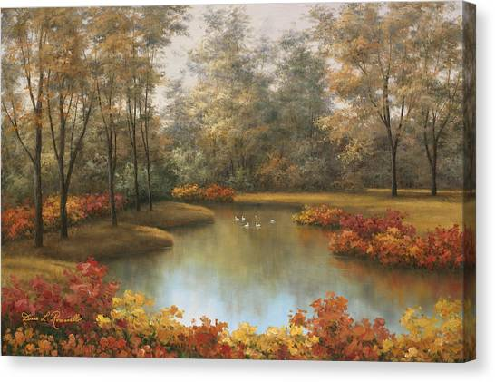 Beauty Of Autumn Canvas Print