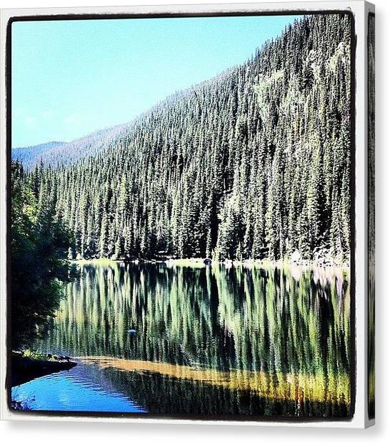 Beavers Canvas Print - Beaver Creek Lake by Todd Peoples