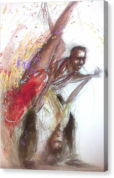 Bebop Dancers Canvas Print
