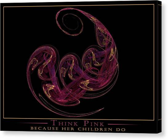 Because Her Children Do Canvas Print by LeAnne Hosmer