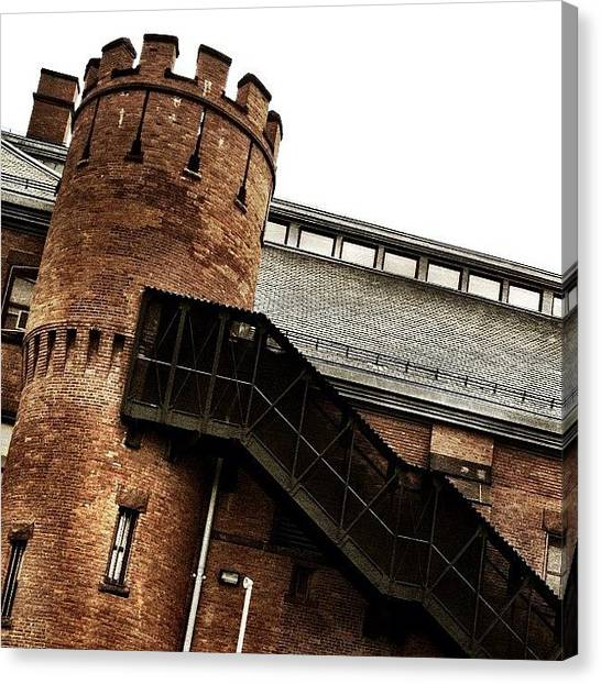 Romanesque Art Canvas Print - Bedford-atlantic Armory by Natasha Marco