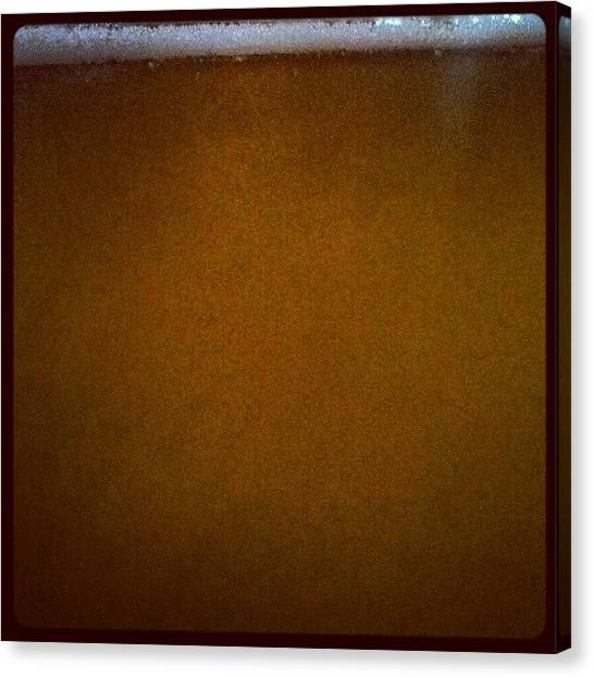 Fluids Canvas Print - #beer #beverage #drink #texture by The Textury