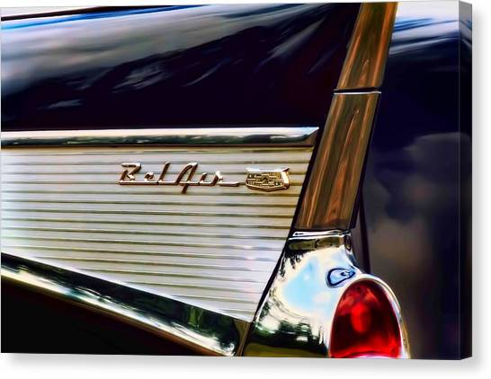 Chevy Canvas Print - Bel Air by Scott Norris