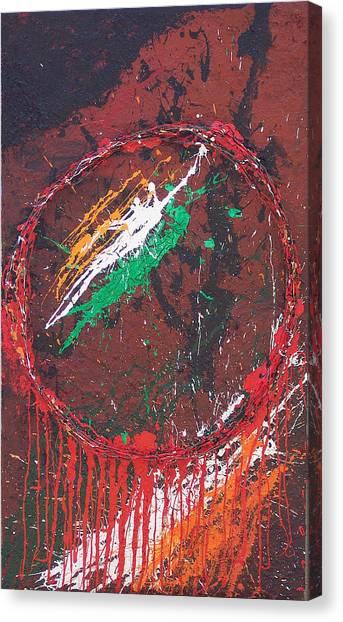 Brian Rock Canvas Print - Belfast Dreamcatcher by Brian Rock