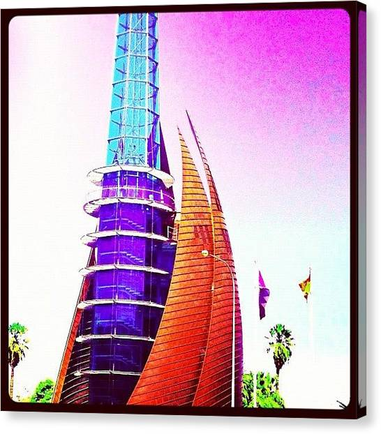 Pop Art Canvas Print - #bell #tower #perth #city #ig #kinabuhi by Benito Chan