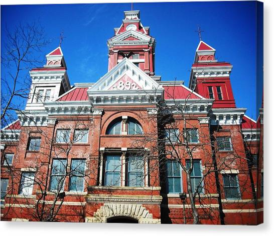 Bellingham City Hall Canvas Print