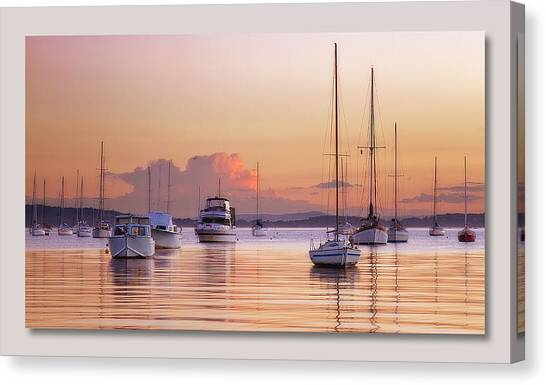 Belmont Red Canvas Print