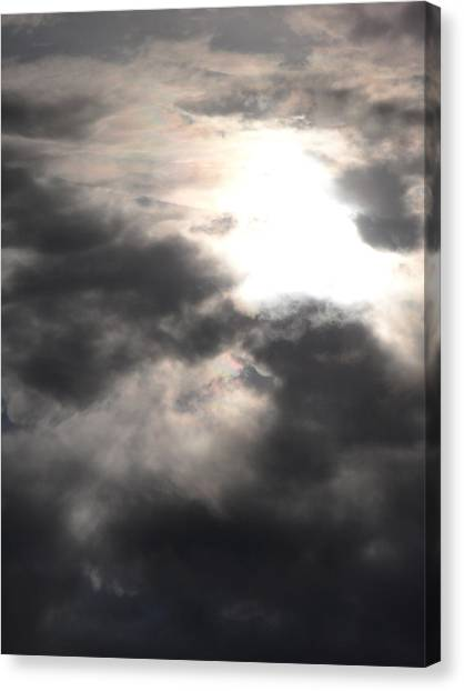 Beneath The Clouds Canvas Print