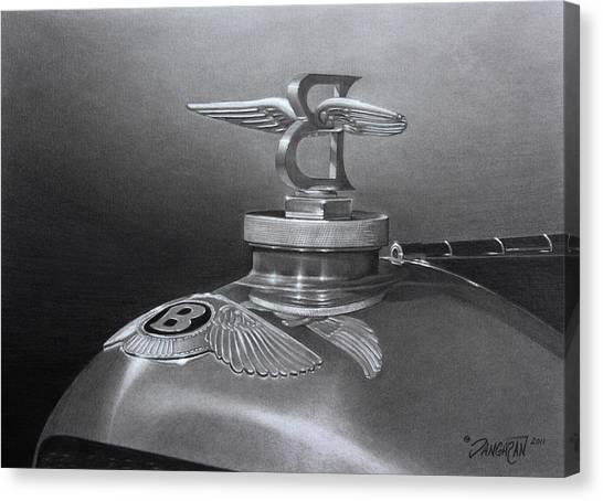 Bentley Corsica Coupe  Canvas Print