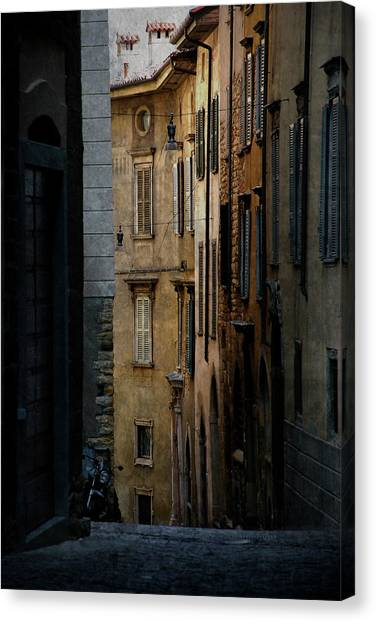 Bergamo Alley Canvas Print