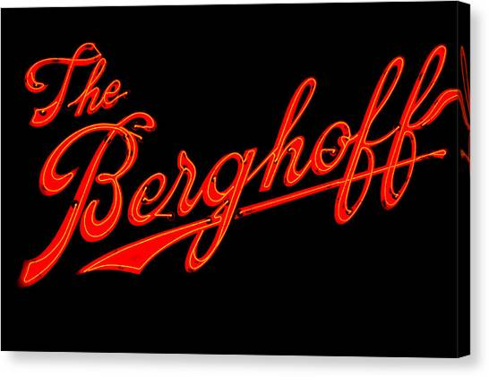 Berghoff Canvas Print by Zannie B
