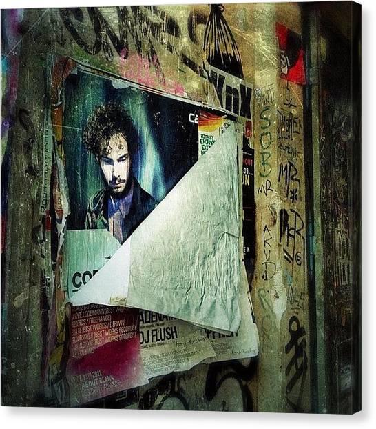 Berlin Canvas Print - Berlin Kreuzberg - Adalbertstr by Cornelia Woerster