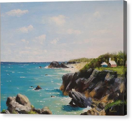 Bermuda Coast Canvas Print by Thomas Kearon