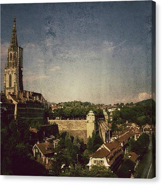 Swiss Canvas Print - Bern Cathedral - Switzerland by Joel Lopez