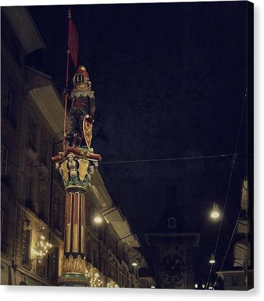 Swiss Canvas Print - Bern Old City - Switzerland by Joel Lopez