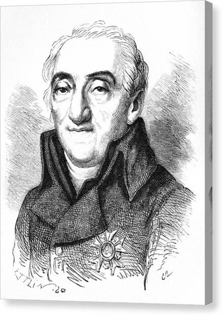 Bernard De Lacepede, French Naturalist Canvas Print by