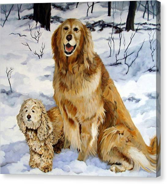 Canvas Print - Best Friends by Sandra Chase
