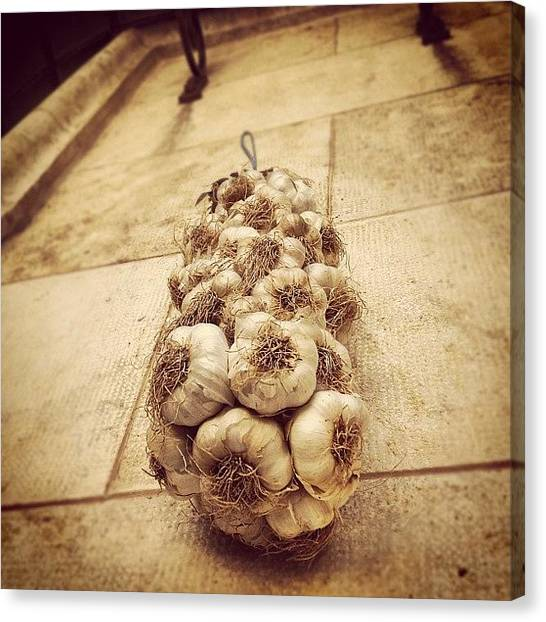 Onions Canvas Print - #bestoftheday #photooftheday #snap by Serge Yeterian