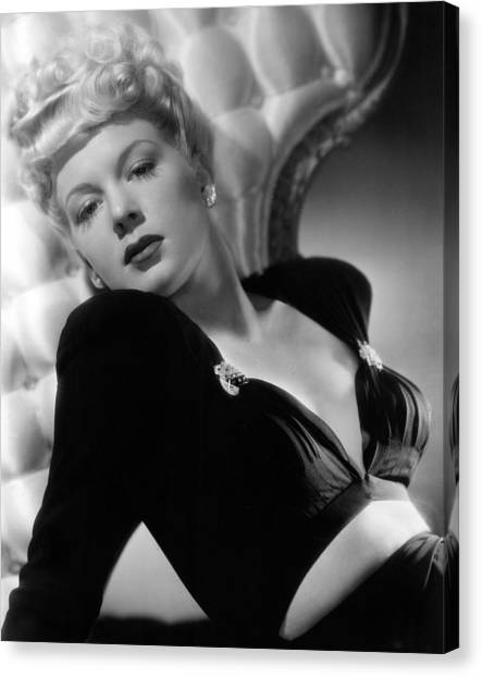 Betty Hutton, Paramount Pictures, 1943 Canvas Print by Everett