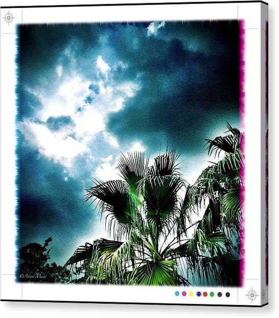 Big Sky Canvas Print - Between Storms - The Clouds At Play by Photography By Boopero